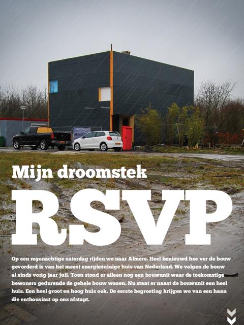 STEK Magazine: RSVP Update – Mijn Droomstek