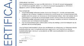 BRL Certificering